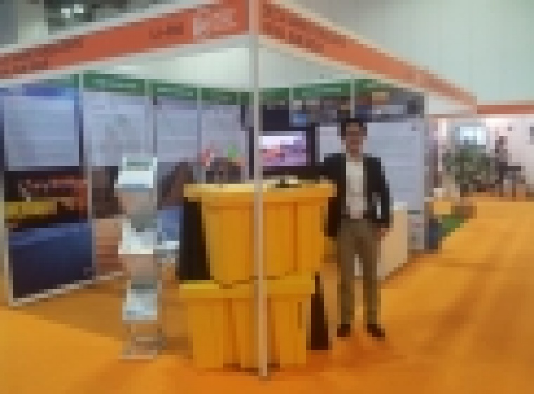 BoxBarrier at Flood Defence Expo in London